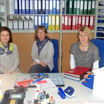 gruppenfoto der sekretaerinnen der bbs stadthagen