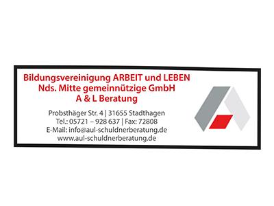 Sponsor: Bildungsvereinigung ARBEIT und LEBEN, Stadthagen