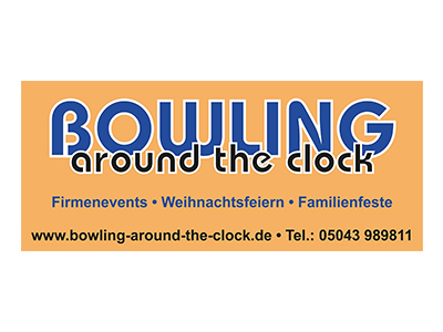 Sponsor: Bowling around the clock - Autohof Lauenau