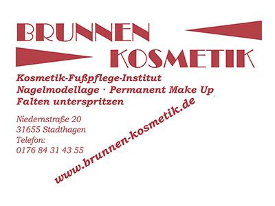 Sponsor: Brunnen Kosmetik, Stadthagen