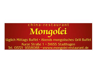 Sponsor: China-Restaurant Mongolei, Stadthagen