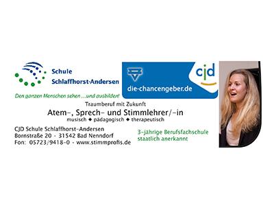 Sponsor: Schule Schlaffhorst-Andersen, Bad Nenndorf