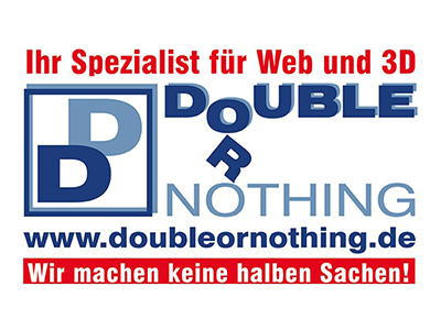 Sponsor: double or nothing Webdesign und Webentwicklung, Inh. Kerstin Thieler, Stadthagen