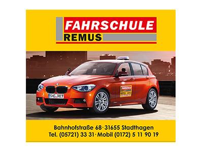 Sponsor: Fahrschule Remus, Stadthagen