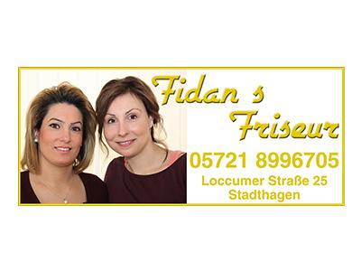 Sponsor: Fidans Friseur, Stadthagen