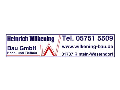 Sponsor: Heinrich Wilkening Bau GmbH, Hoch- und Tiefbau
