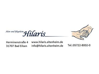 Sponsor: Hilaris Alten- und Pflegeheim, Bad Eilsen