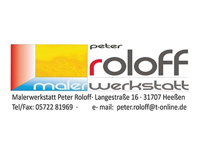 Sponsor: Malerwerkstatt Peter Roloff, Heeßen