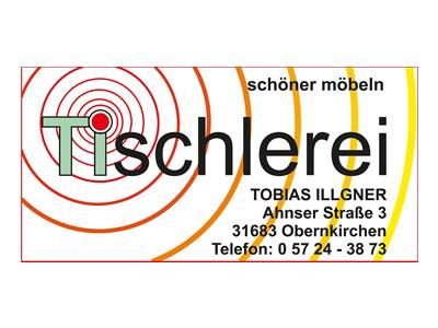 Sponsor: Tischlerei Tobias Illgner, Obernkirchen