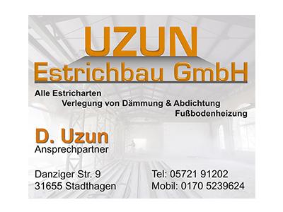 Sponsor: UZUN Estrichbau GmbH, Stadthagen